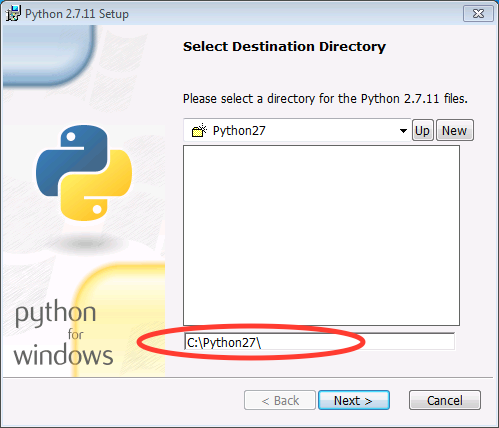 install python to different directory windows
